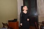 Dr Anna G. Piotrowska - koordynatorka konferencji i opiekun naukowy podczas rozpoczęcia konferencji