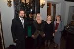 Od lewej dyrektor Waldemar Domański, Danuta Grechuta, dr Anna G. Piotrowska i prof. dr hab. Alicja Jarzębska