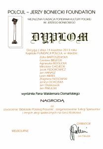 Dyplom - Polcul